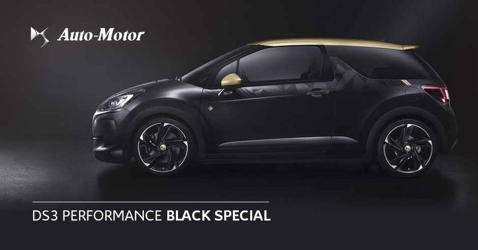ds3 performance black special automotor toledo. Black Bedroom Furniture Sets. Home Design Ideas