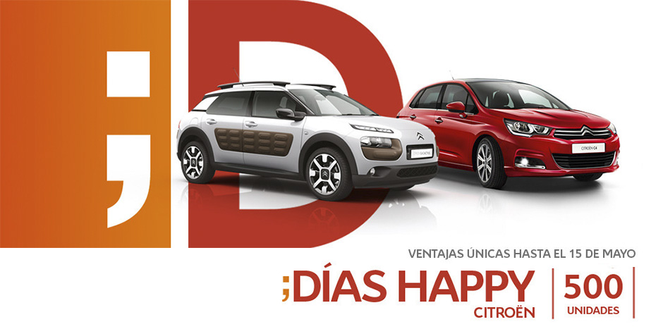 Días Happy de Citroën y DS