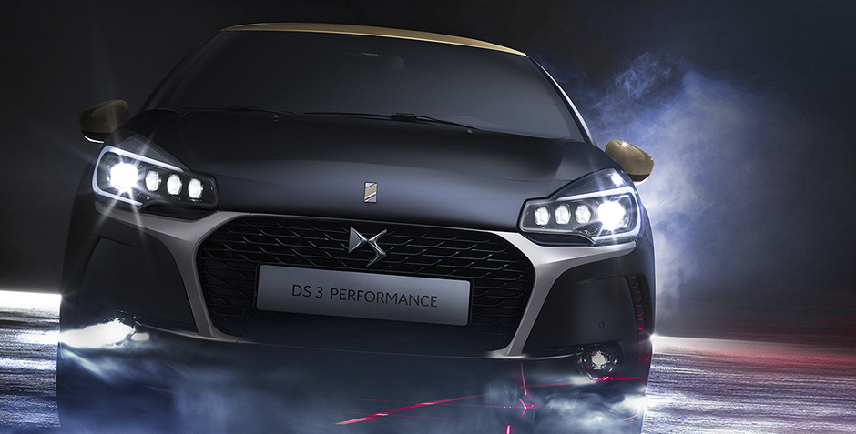 DS 3 CABRIO PERFORMANCE, BLACK SPECIAL