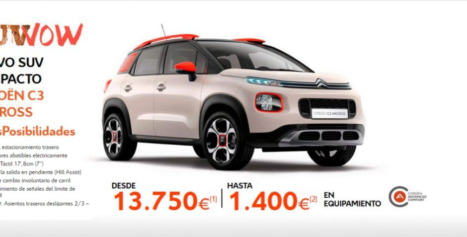 Citroën C3 Aircross – Conforterapia