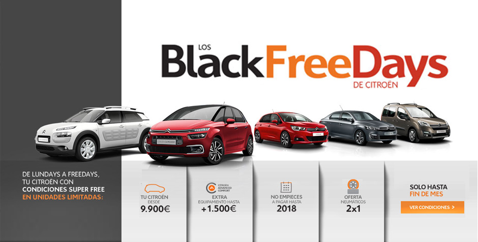 Los Black Free Days de Citroën