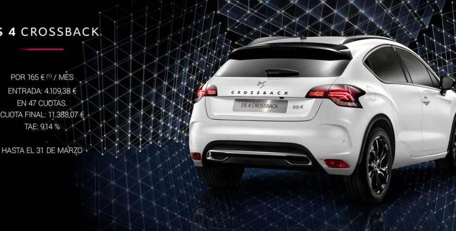 DS 4 Crossback Connected Chic por 165€/Mes