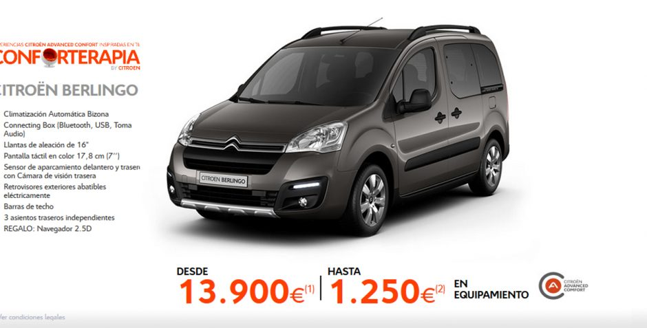 Citroën Berlingo – Conforterapia